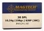 38 Special SJSP 10,24g/158gr 50kpl Magtech