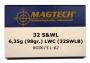 32 S&WLong LWC 98gr/6,4g 50ptr MAGTECH